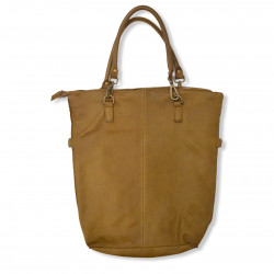 BORSA SHOPPER SENAPE